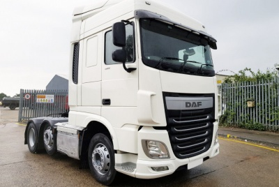DAF XF 480 Euro 6 Twin Sleeper Space Cab 6 x 2 Tractor Unit plated at 44,000kg GVW