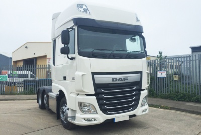 DAF XF 510 Euro 6 Super Space Cab 6 x 2 Tractor Unit plated at 44,000kg GVW