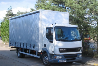 Daf 45 Day Cab Curtainsided Vehicle 7,500kg GVW