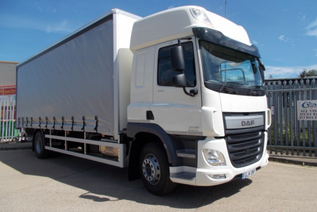 DAF 65 CF 220 18,000kg GVW Curtainsided Vehicle