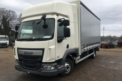 DAF 45 Euro 6 High-Roof Twin Sleeper Curtainsided Vehicle 7,500kg GVW